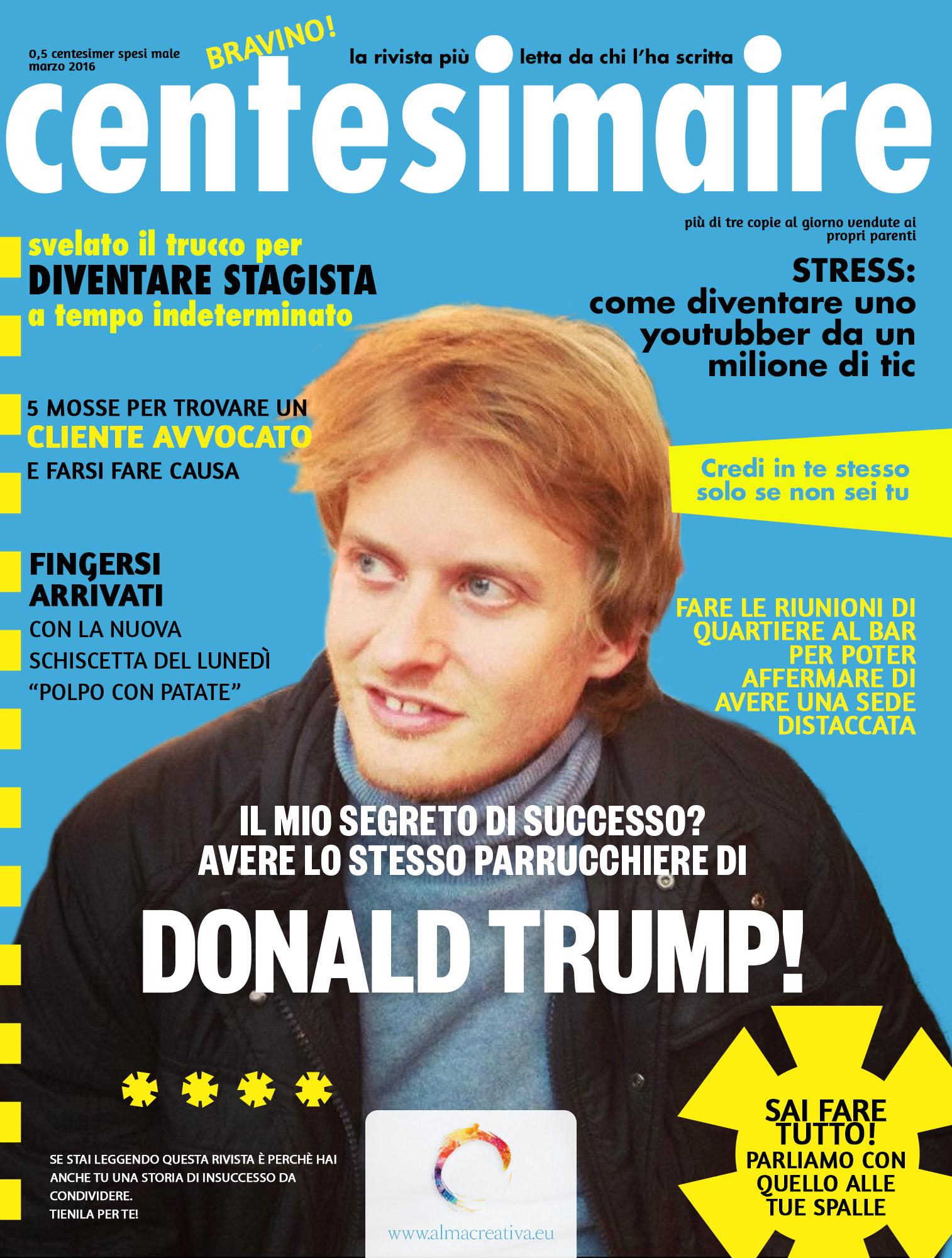 Centesimaire – il numero di marzo 2016
