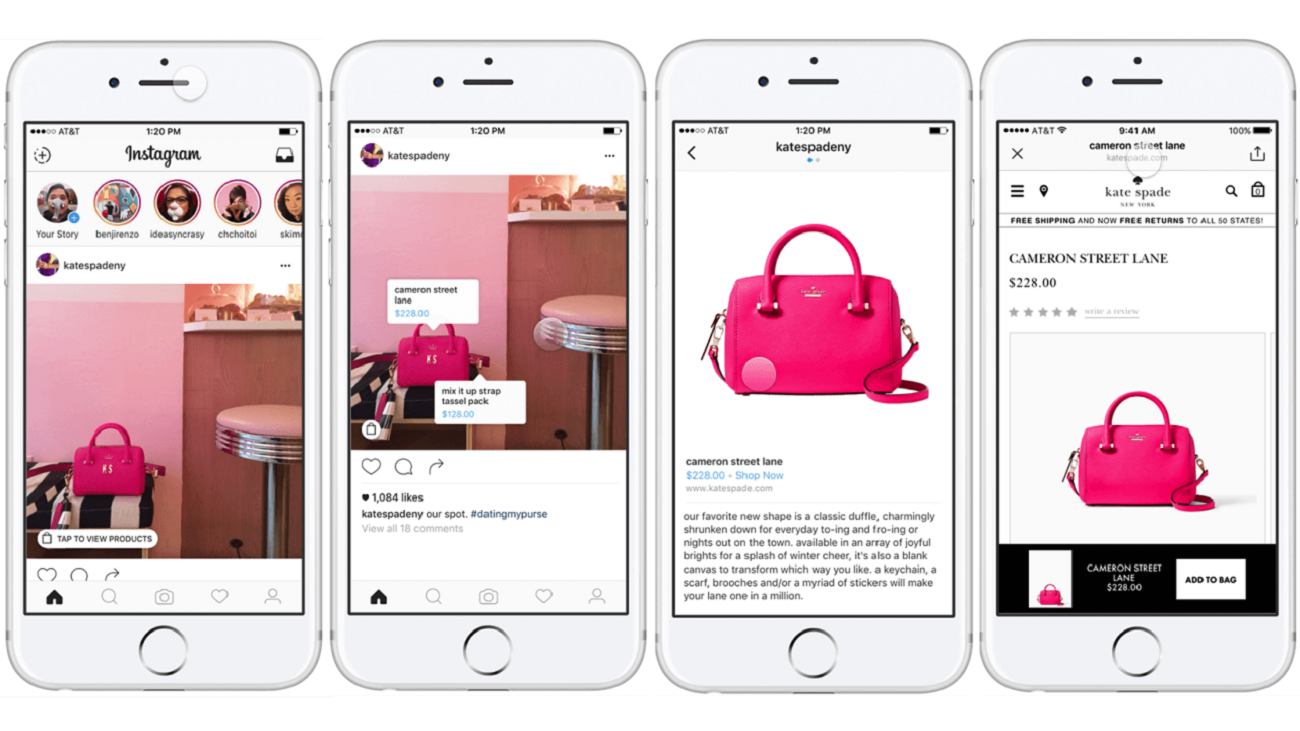Digital trend 2018: Instagram Shopping